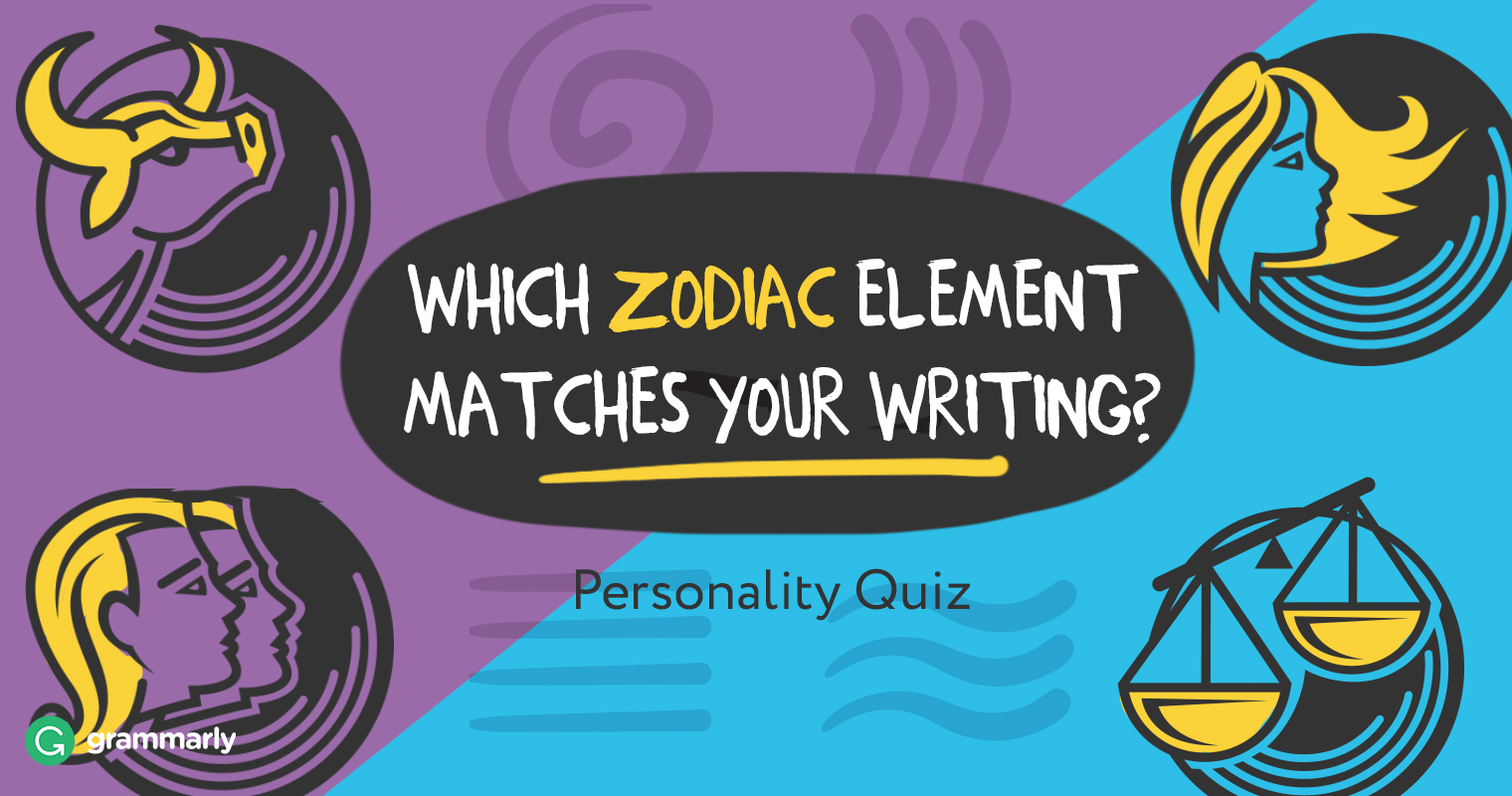 What's Your Writing Zodiac? Quiz