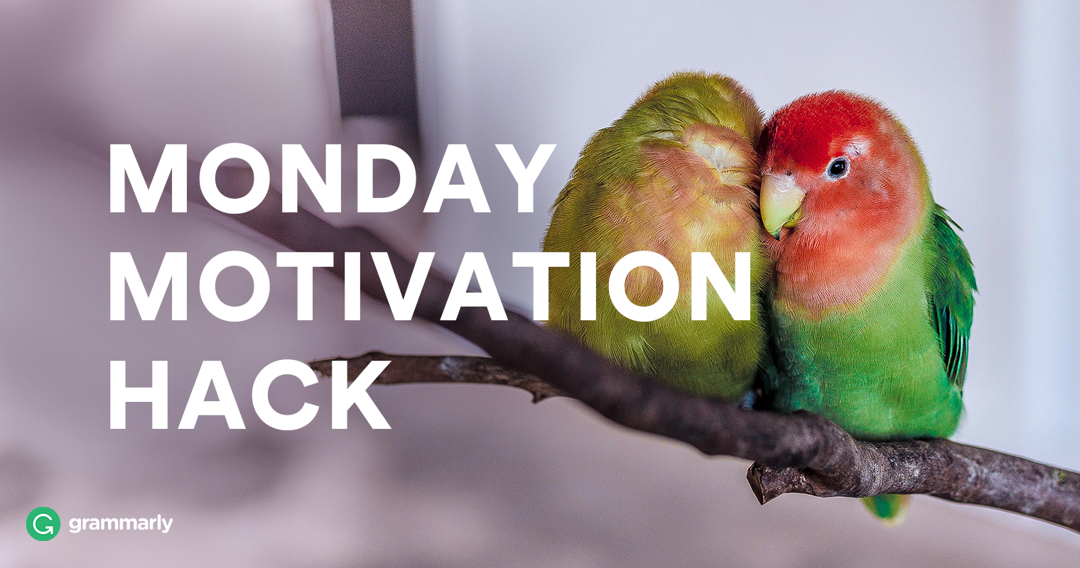 Monday Motivation Hack: Set an Intention image