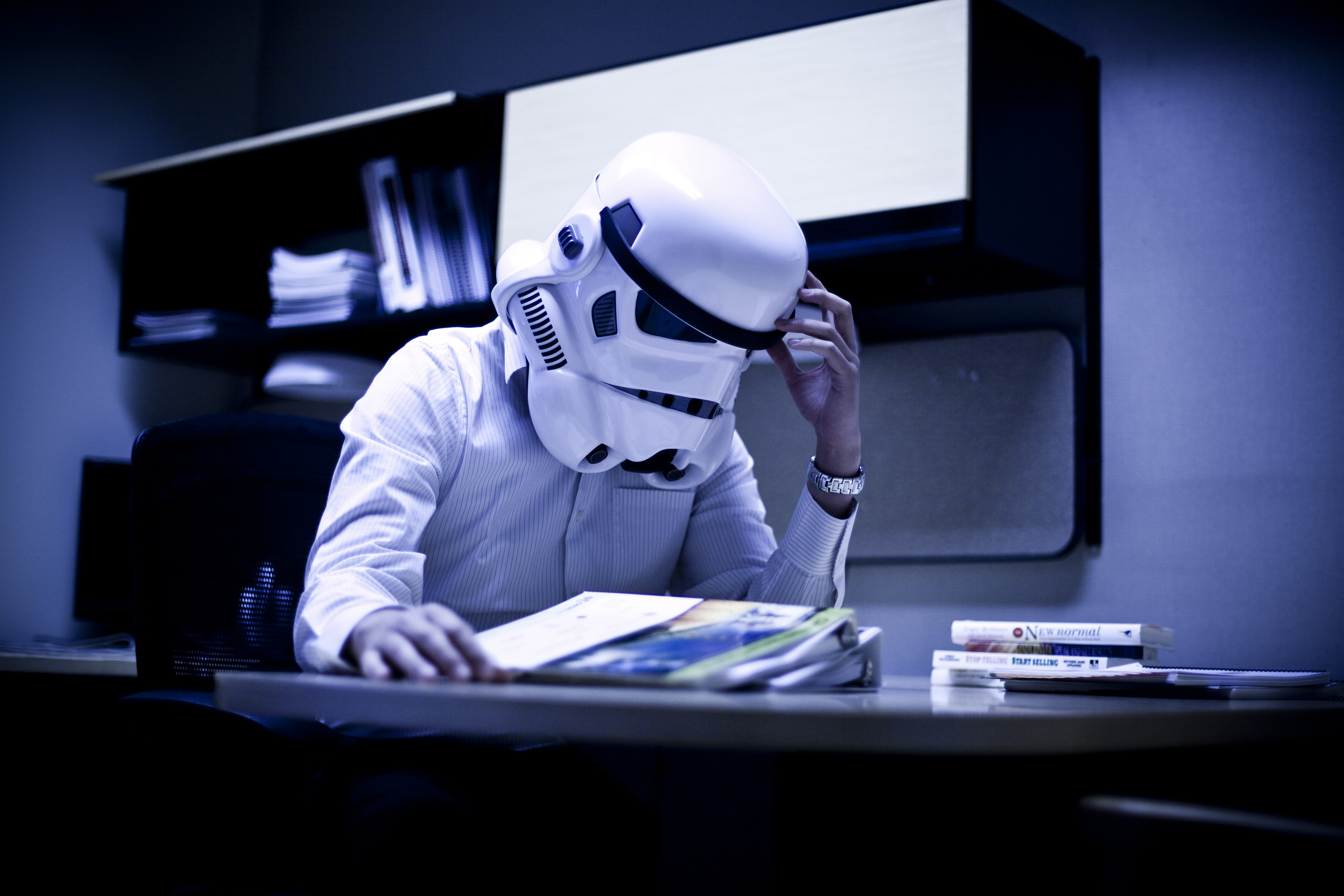 Darth Vader at Work