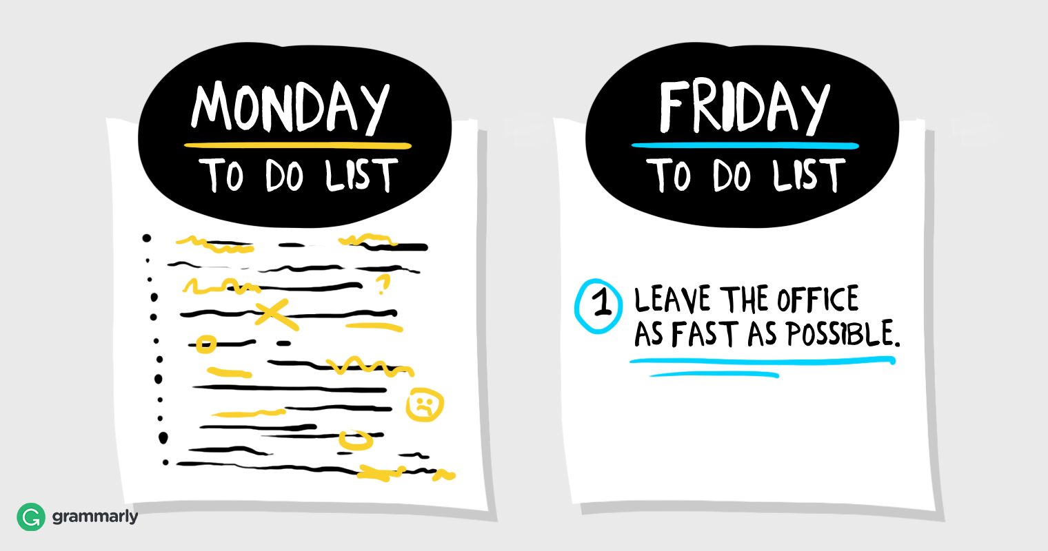Make Friday Your Most Productive Day image