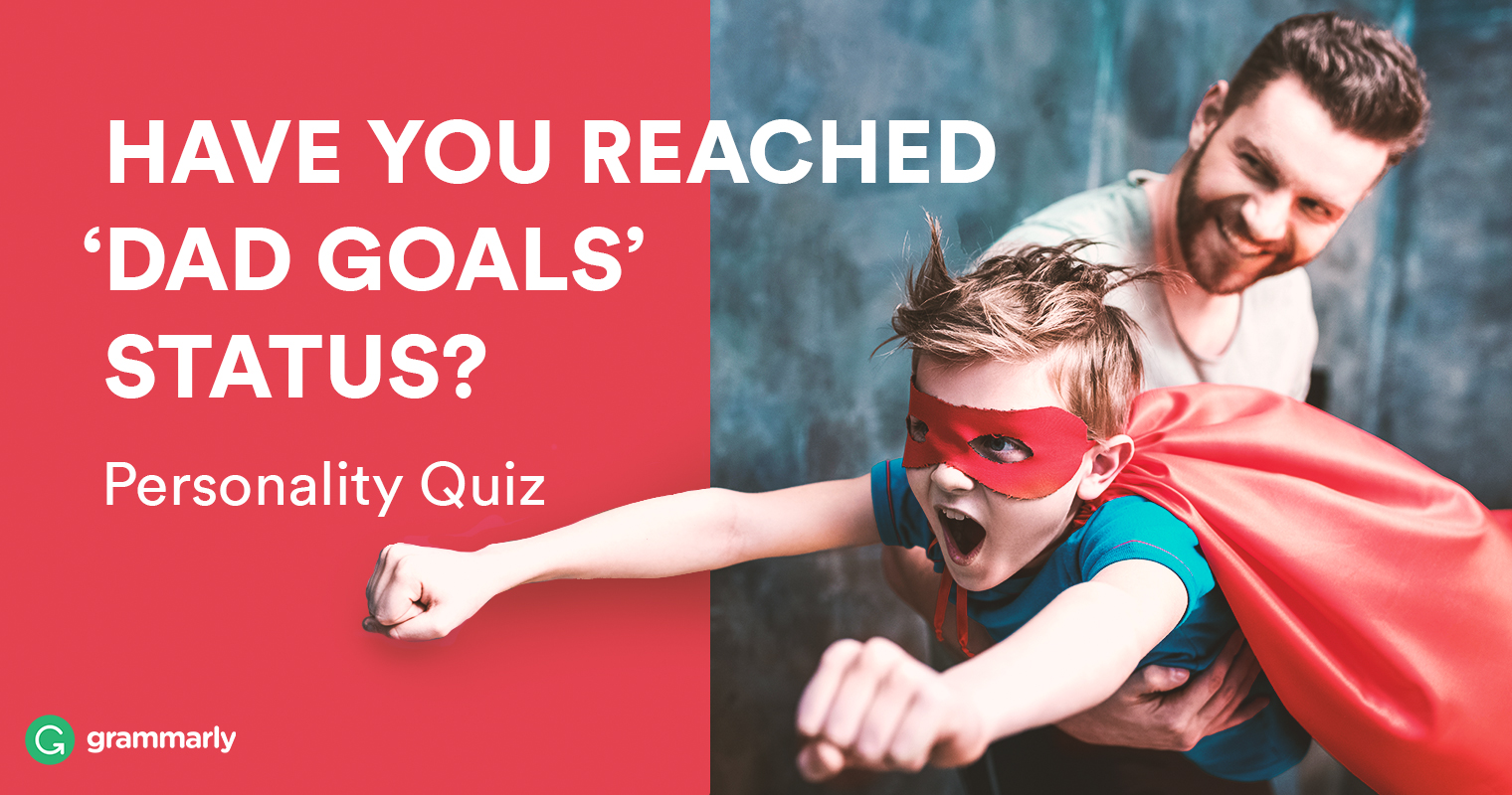 Dad Goals Quiz Header