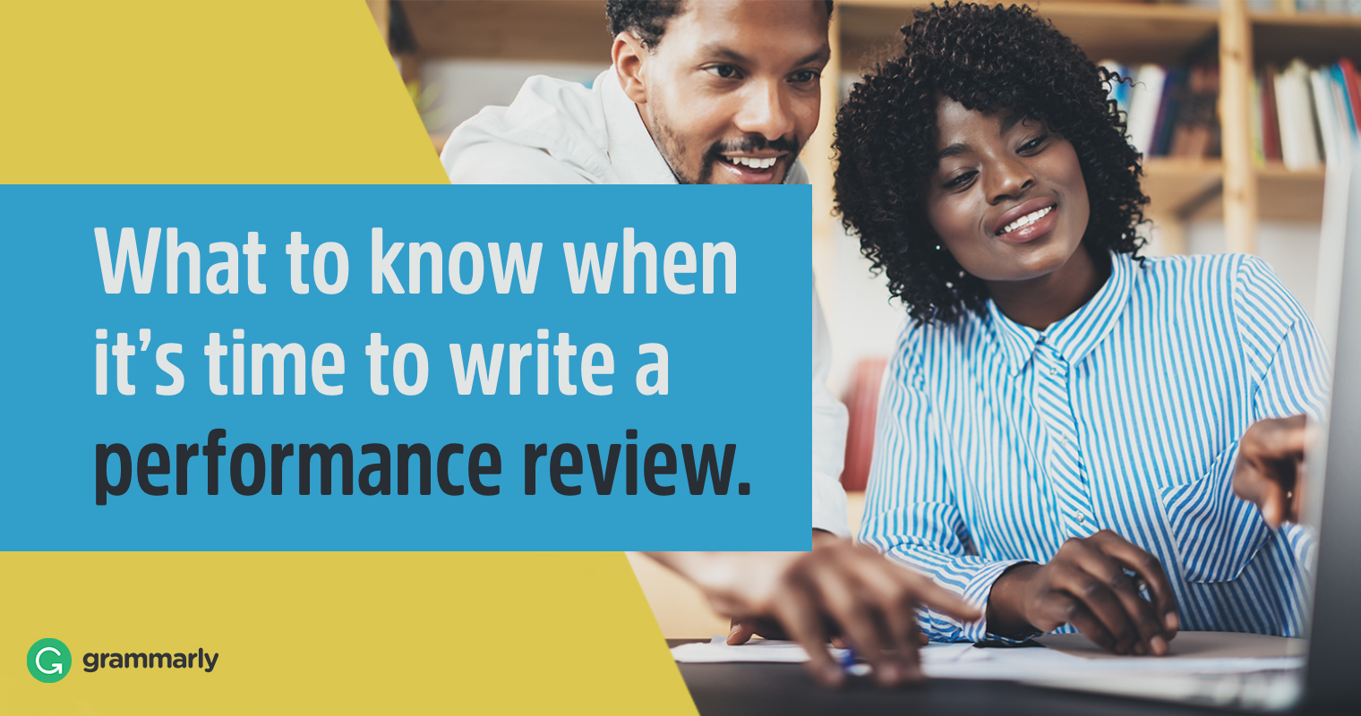 3 Performance Review Examples You Need to See image