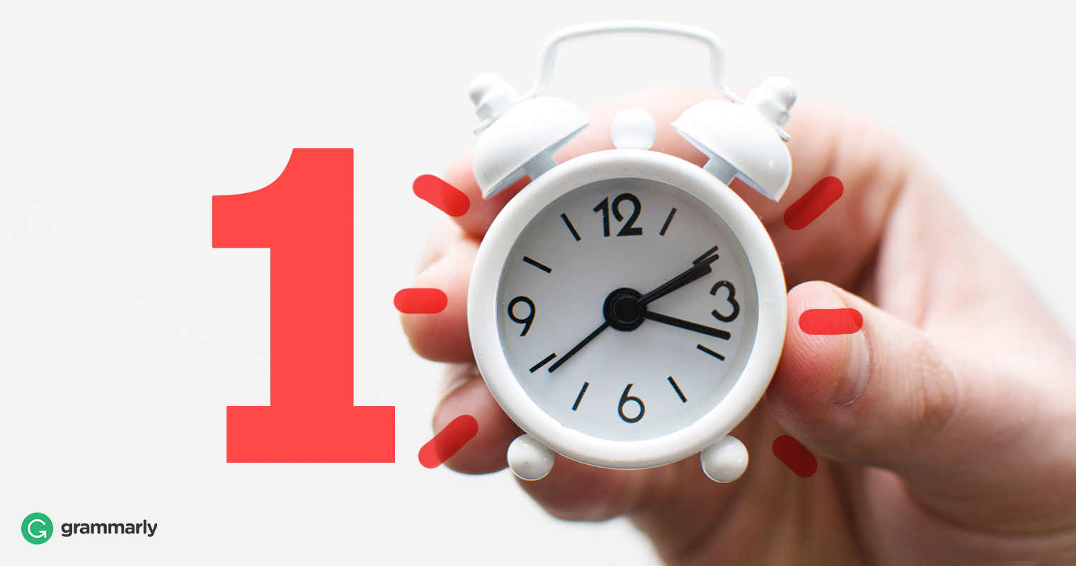 10 Ways To Save Time Every Day That Most People Ignore by Shundalyn Allen for Grammarly Blog