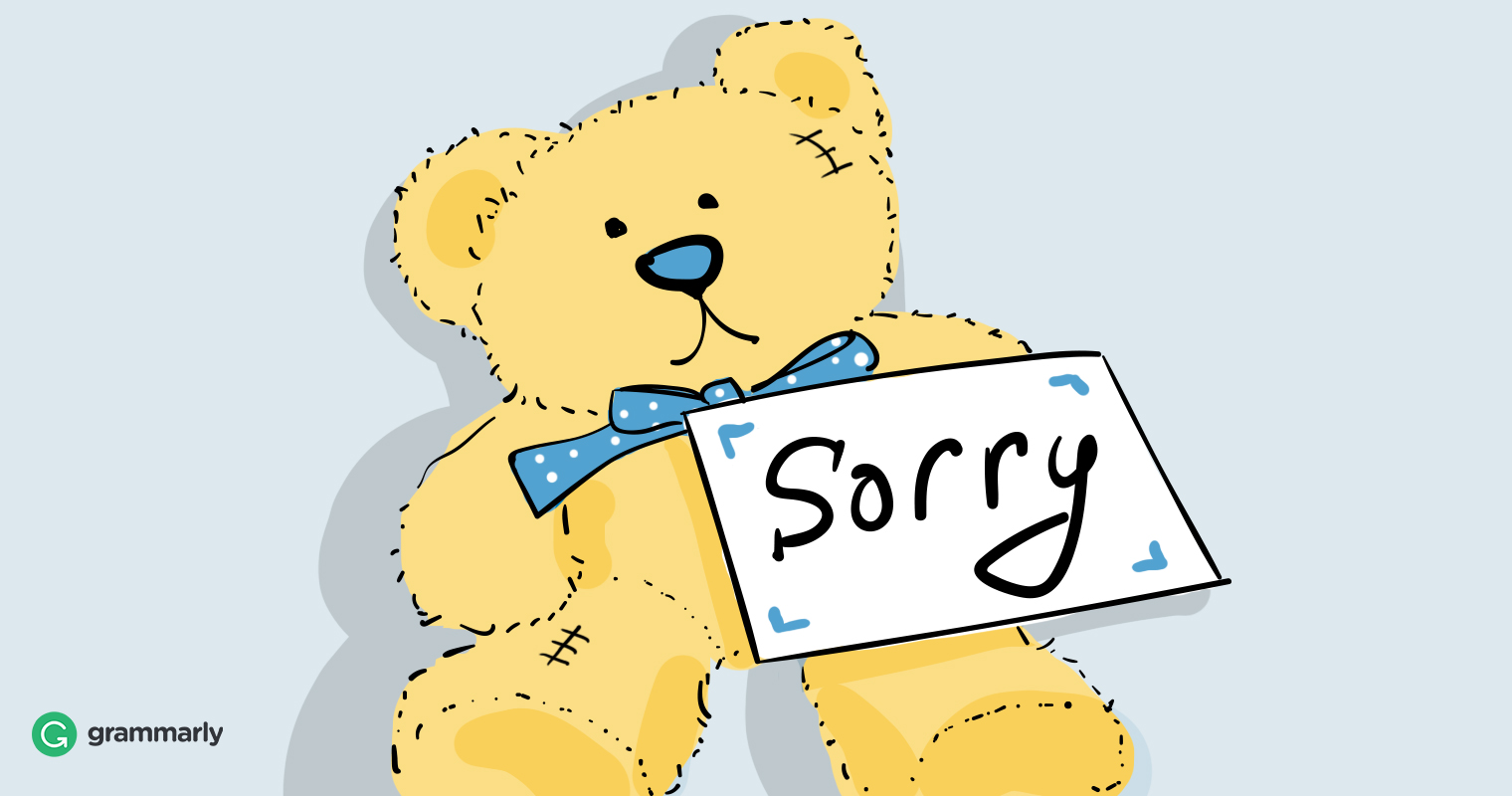 If You Want To Know How To Apologize, First Do This