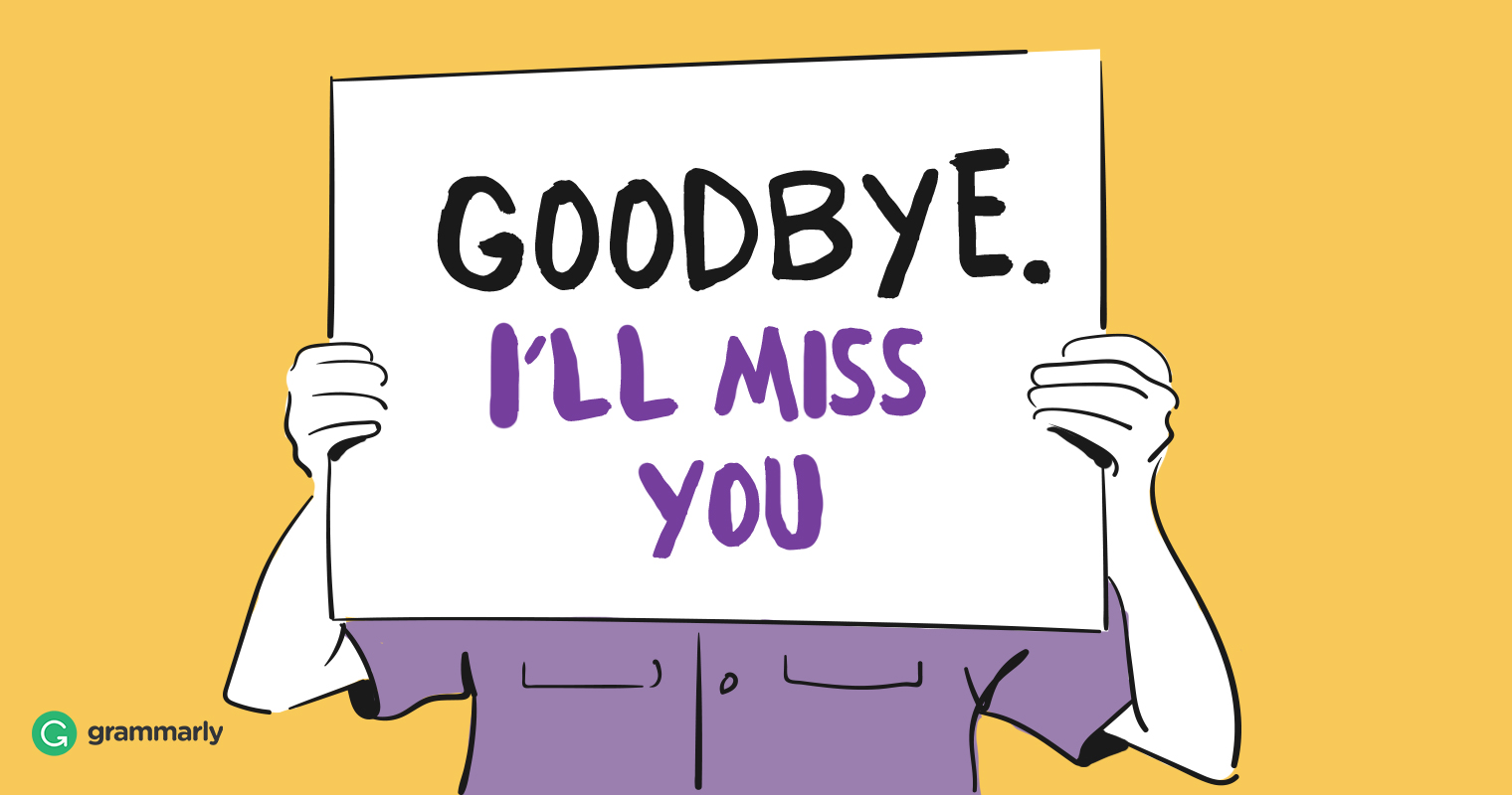 How to Send the Perfect Goodbye Email to Coworkers | Grammarly