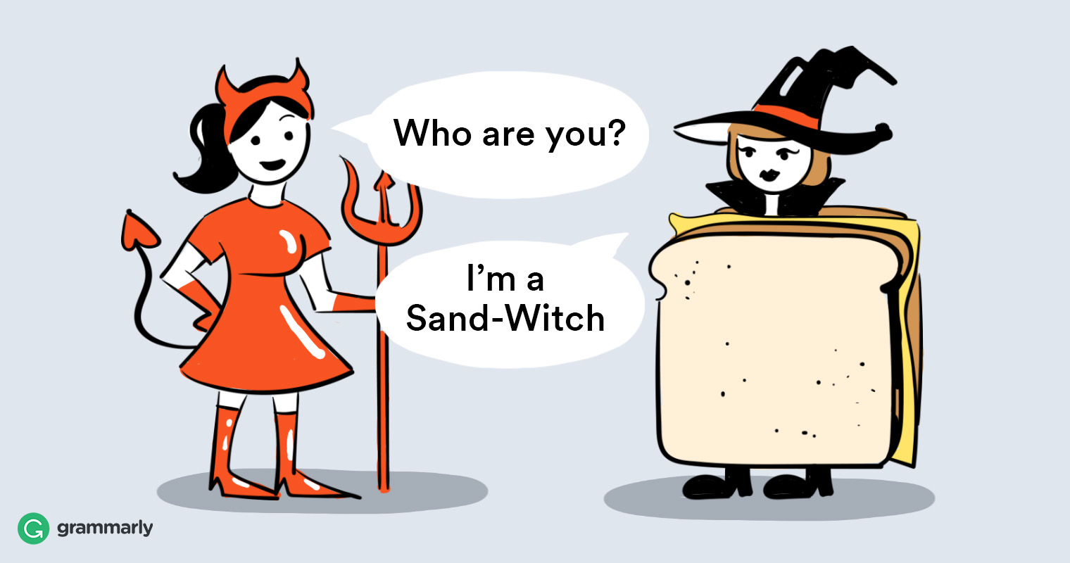 16 Original Pun-Inspired Costumes To Wear This Halloween by Kimberly Joki for Grammarly