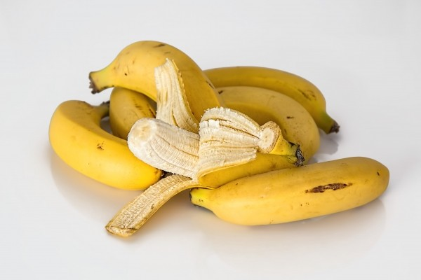 Banana tropical fruit yellow healthy fresh ripe