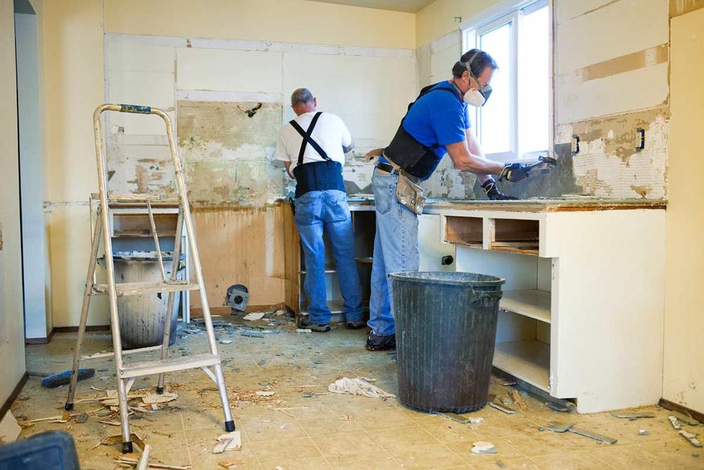 Kitchen remodel the 7 deadly sins for Being your own contractor