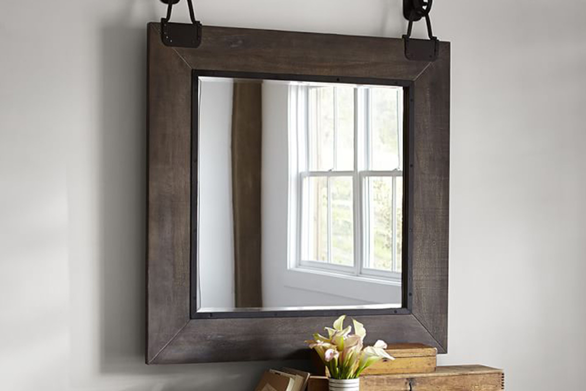 15 best industrial mirrors for your loft apartment for Looking for wall mirrors