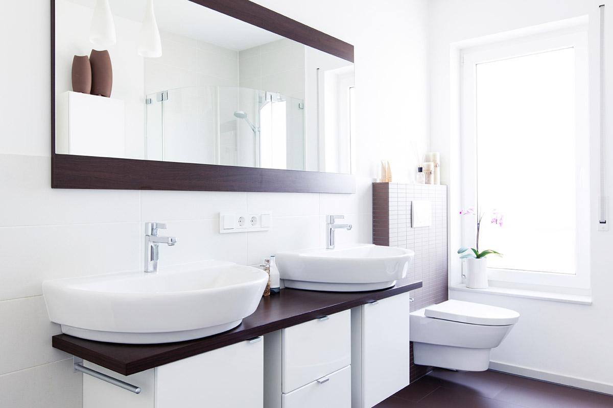 Building a Better Bathroom Vanity: When to Do a Double Sink