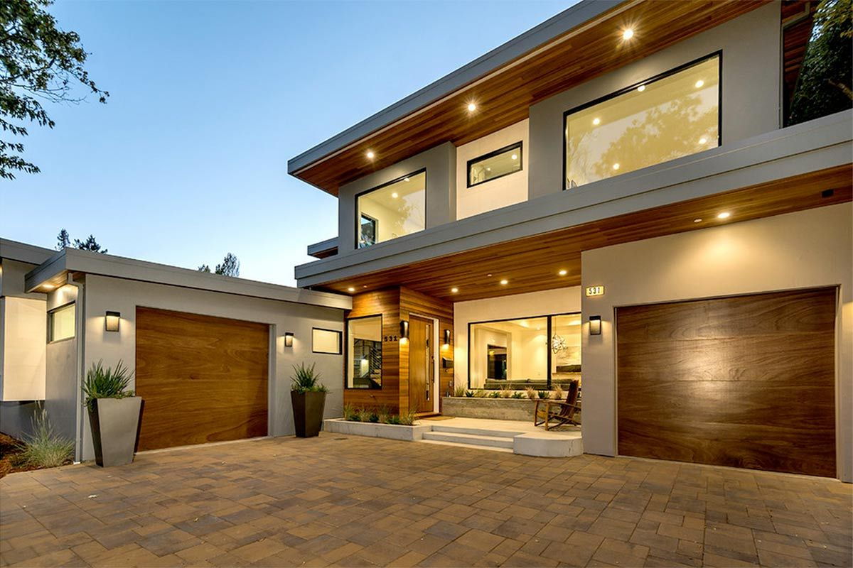 4 modern luxury homes in san jose california for Modern big house design