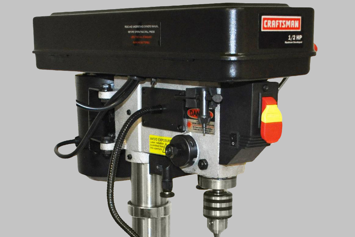 Craftsman 10 Bench Drill Press With Laser Review