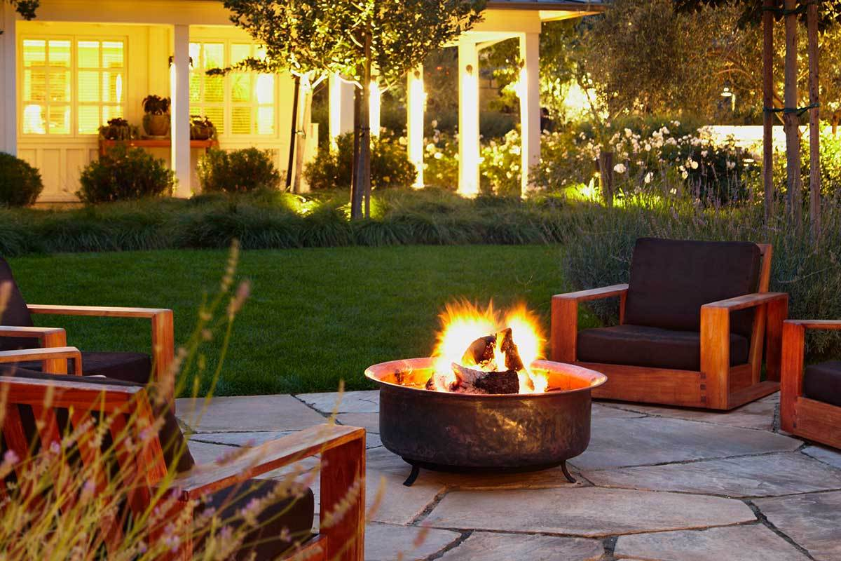 2. Install A Fire Pit