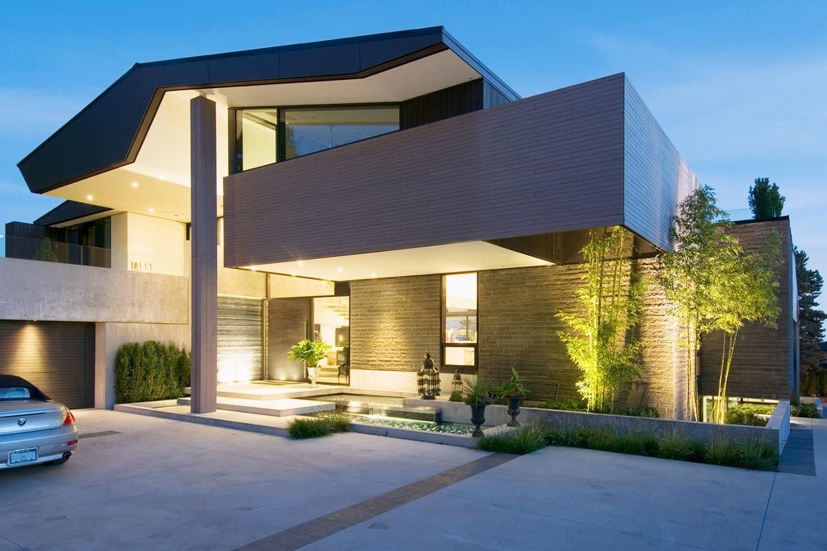 4 modern luxury homes in vancouver canada for Luxury modern home builders