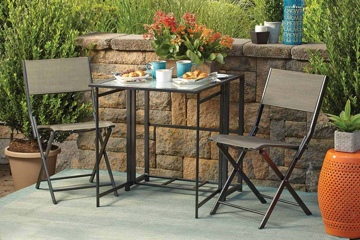 small patio dining sets for the city dweller