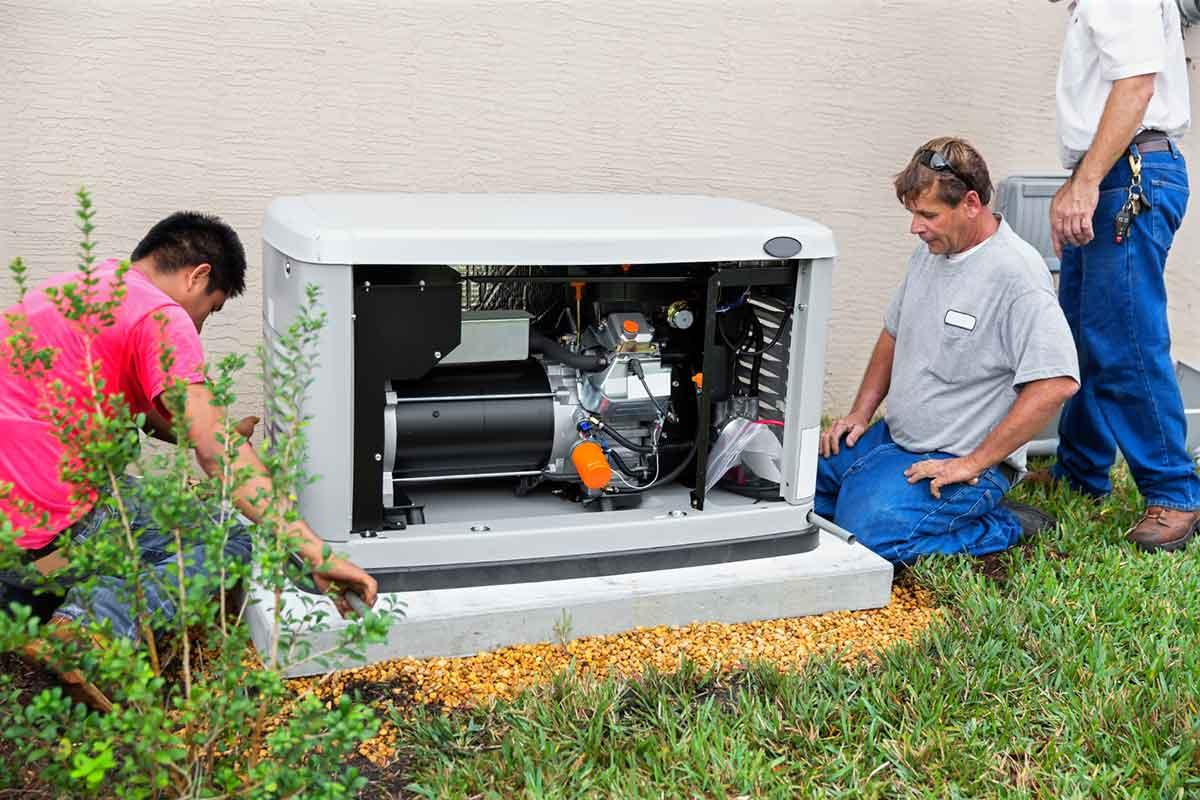 Be Safe. Have your generator installed by a professional