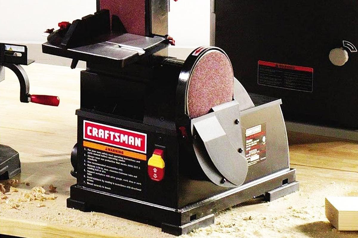 Craftsman 21514 Bench Top Belt & Disc Sander Review