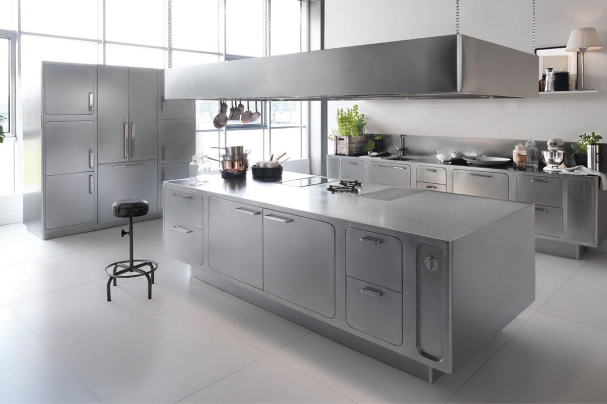 If You Re A Serious At Home Chef Or You Just Want Guests To Think You Are Then This Kitchen Design Is For You Nearly Everything Is Constructed From