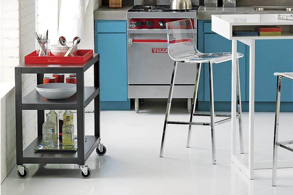 also featured in our list of favorite accent and side tables this is a great budget solution for those looking to add some supplemental storage and surface - Kitchen Side Tables