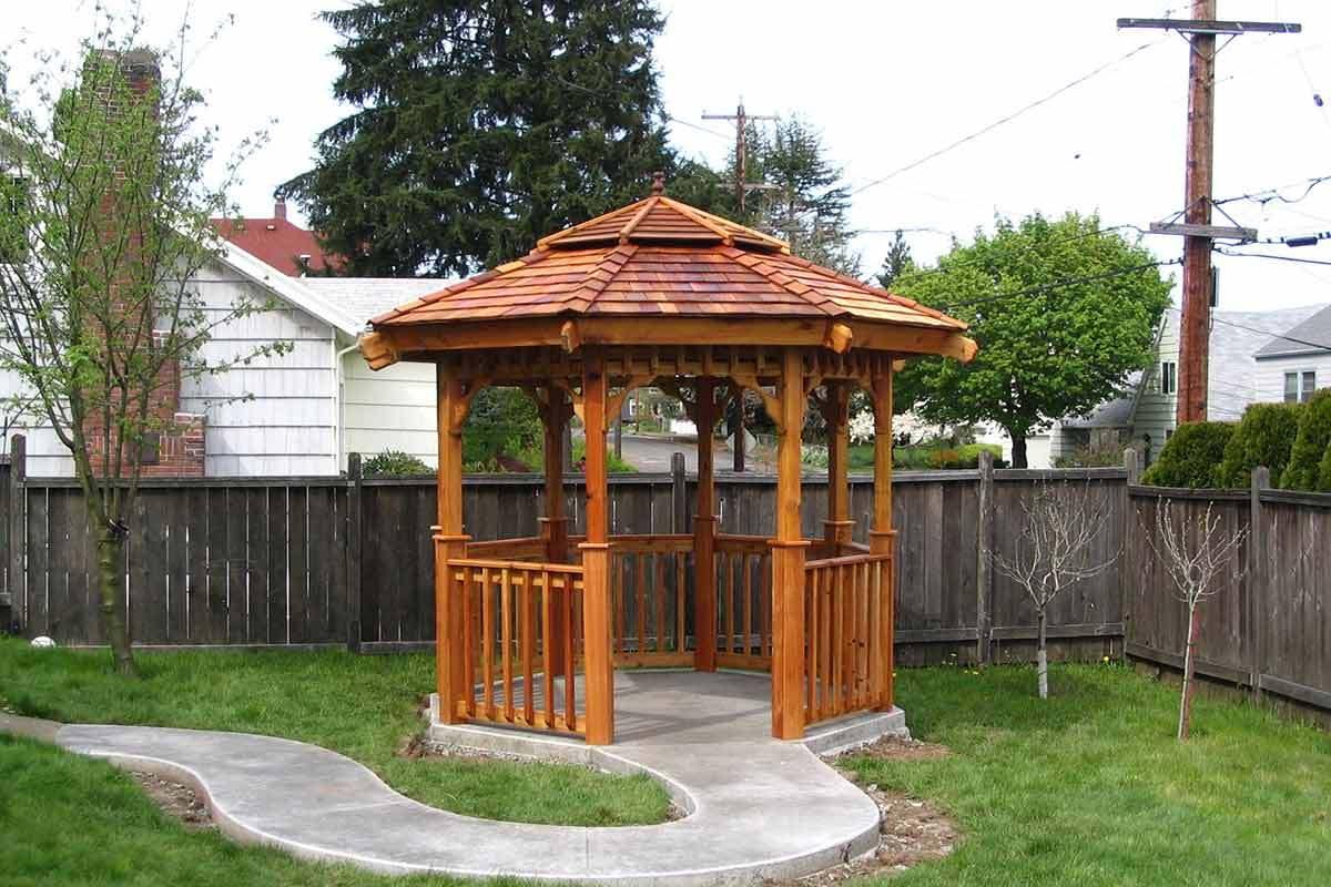 Backyard Gazebo Ideas For Sun Shade And Rain Shelter
