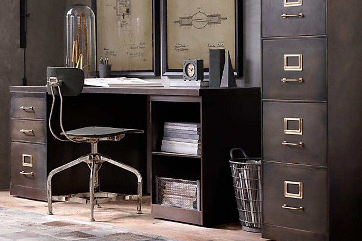 12 Industrial Desks Youll Want For Your Home Office