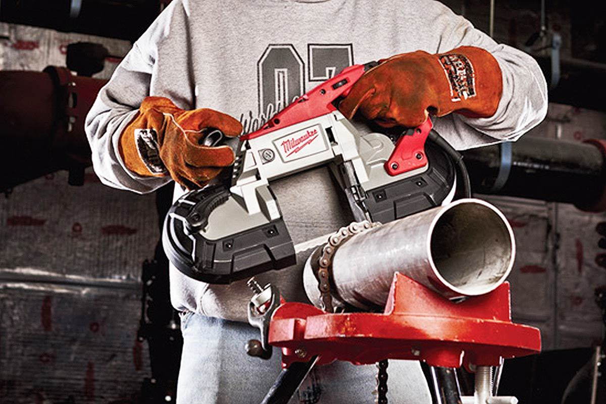 Milwaukee 6232-20 Portable Band Saw Review
