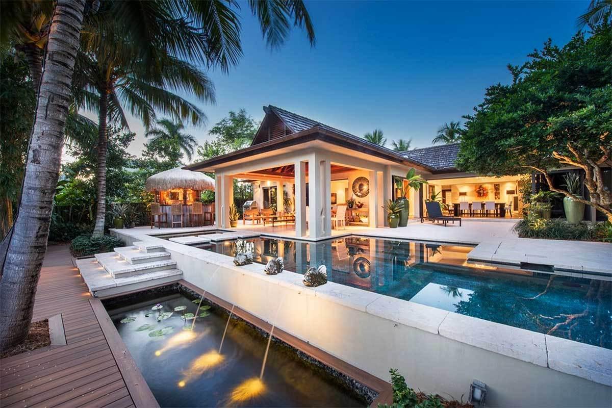 7 beautiful luxury homes in miami florida for Miami home design usa