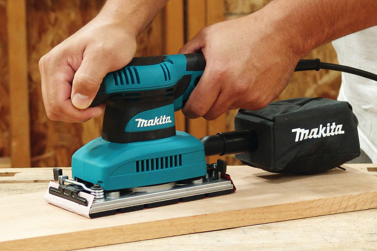 Makita Finishing Sander BO3710 Review