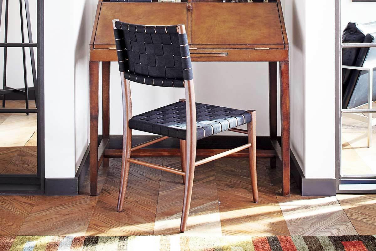 Oslo Black Side Chair From Crate U0026 Barrel