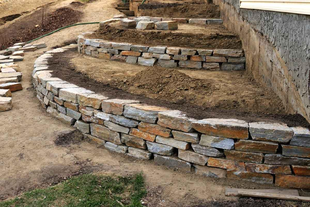Building a retaining wall over 3 feet in height?  Hire a professional!