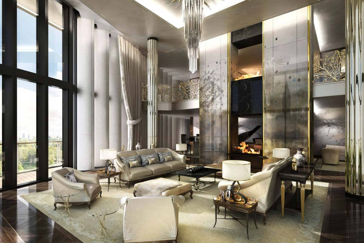 5 Beautiful Luxury Apartments From Around The World