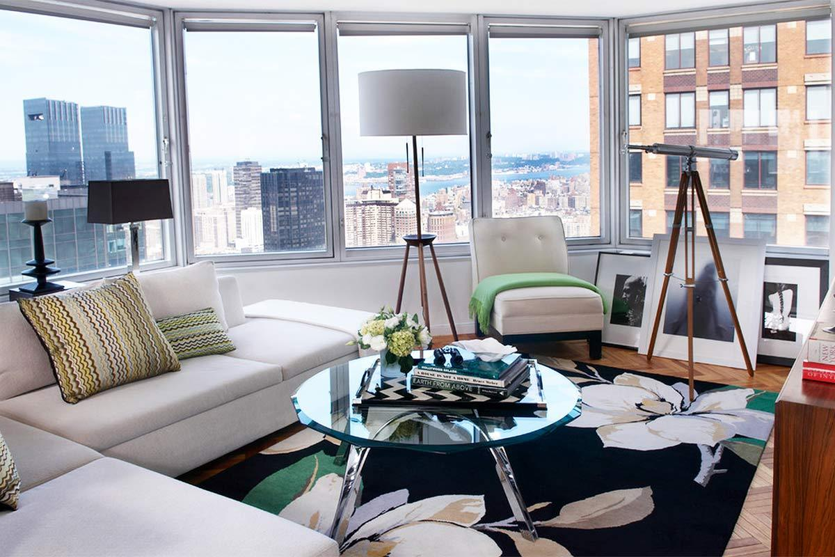 7 best apartment interior designs in new york for Apartment design new york