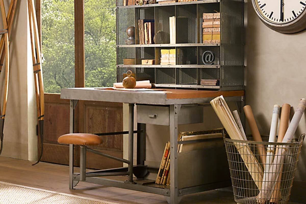 restoration hardware partners product french desk desks