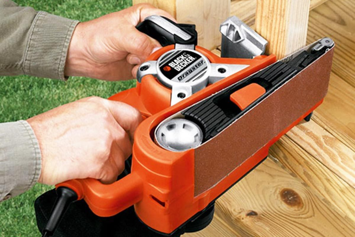 Black and decker dragster ds321 belt sander review sciox Image collections