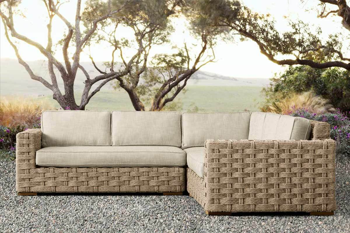 ^ 6 Outdoor Sectional Sofas for a ontemporary Patio