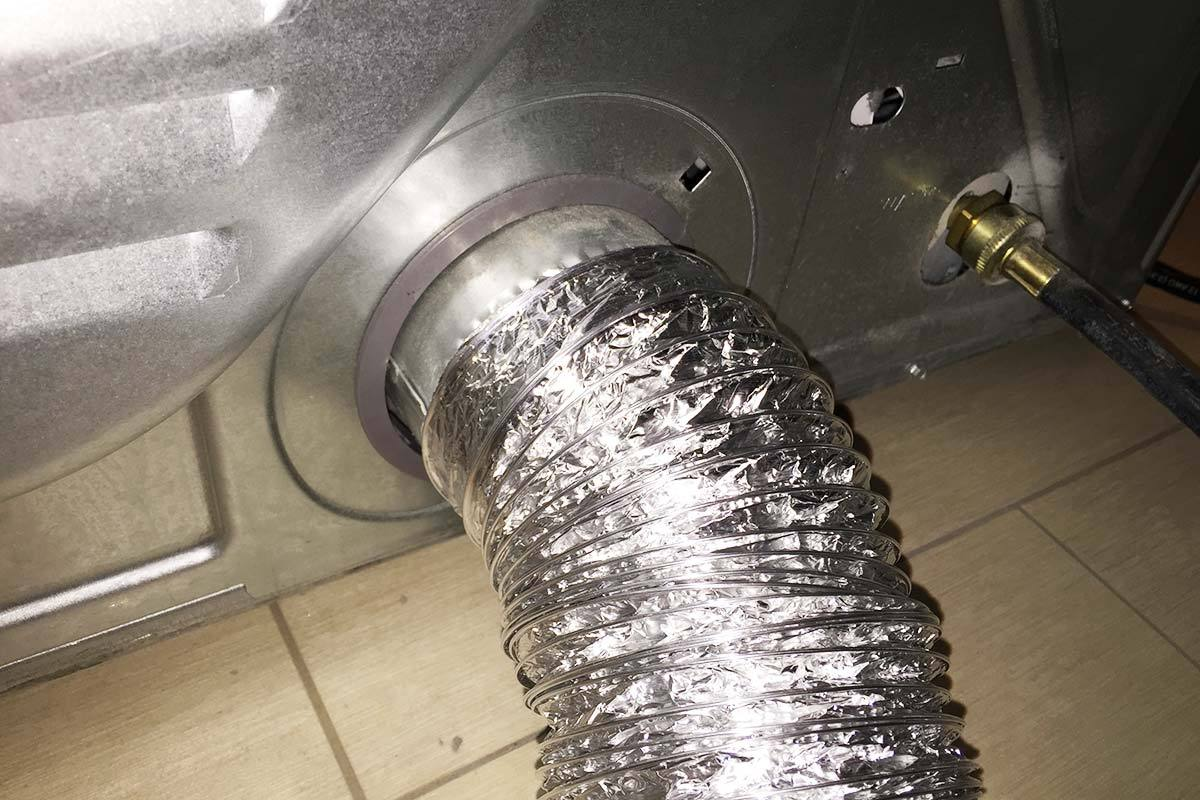 dryer machine vent