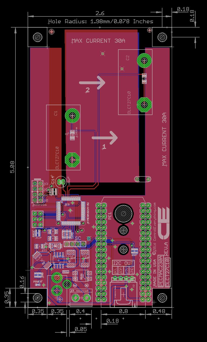 2 Channel On Board Ac Current Monitor For Iot 5 Wire Proximity Switch Diagram Wiring
