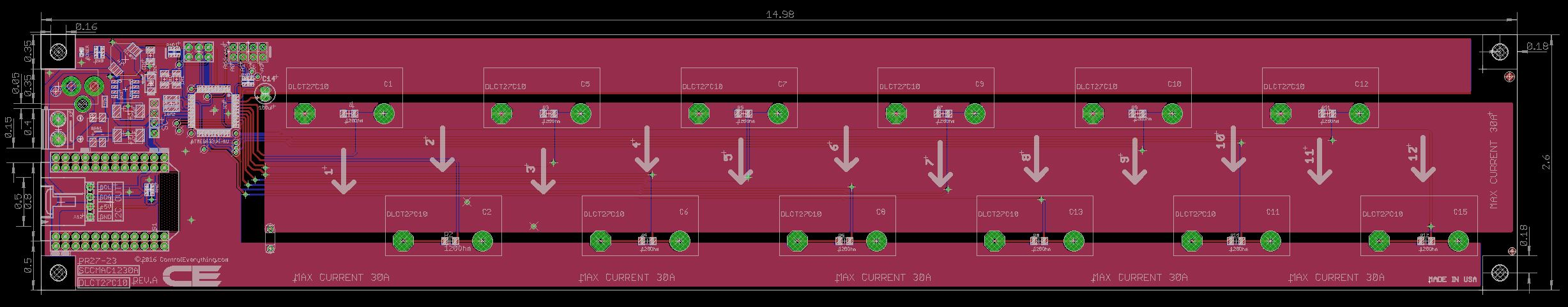 12 Channel On Board Ac Current Monitor For Particle Photon Alternating Diagram B The Produced In Wiring