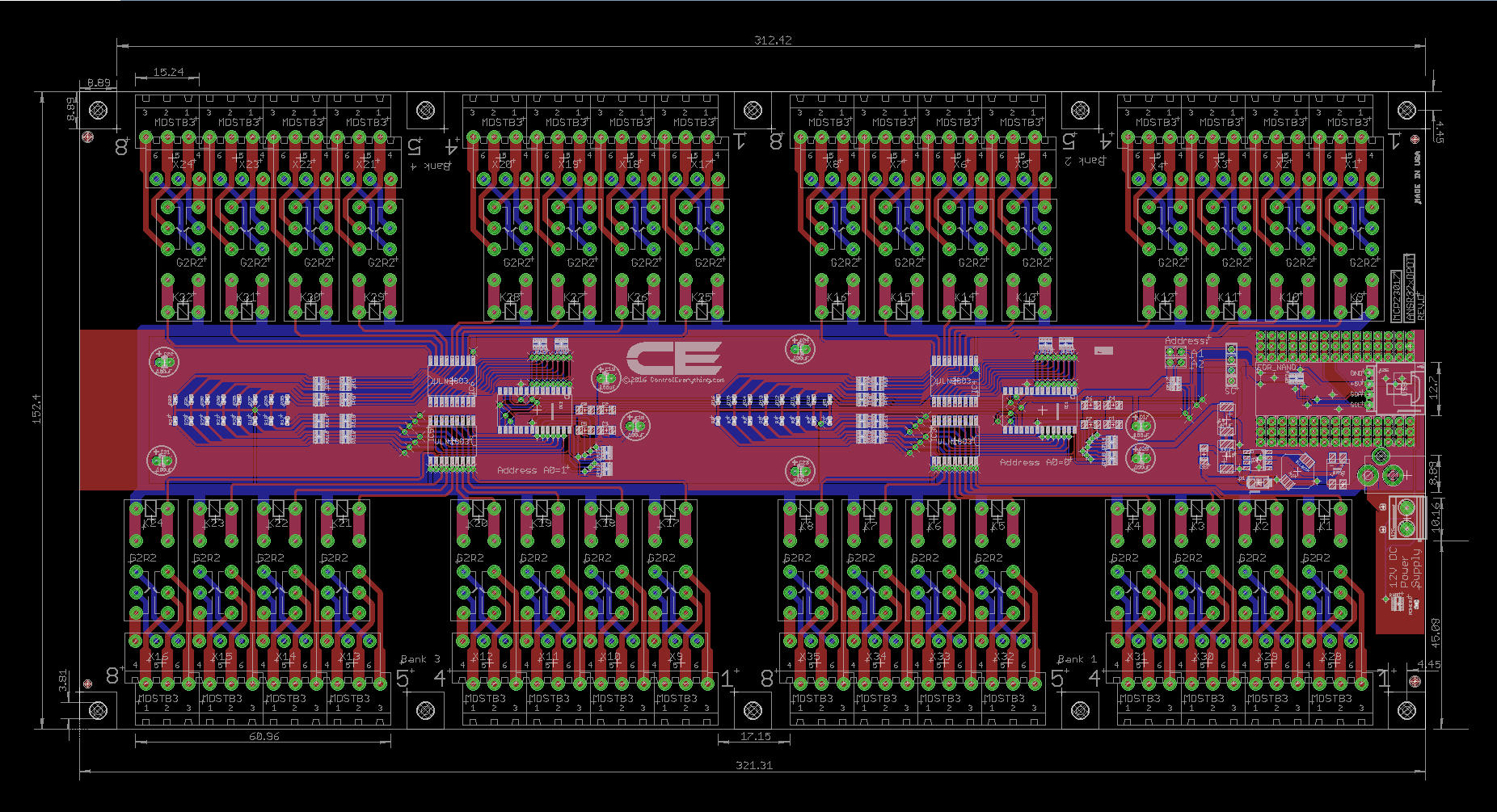 32 Channel Relay Controller For Arduino Nano Circuit Diagram Together With On Dc To Ac Wiring