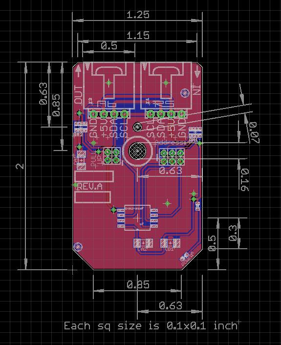 Air Quality NH3,NOx,Smoke Gas Sensor