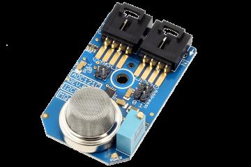 I2C Gas Sensor MQ-6 LPG Iso-Butane LPG Propane LNG Natural Gas ADC121C 12-Bit ADC I2C Mini Module