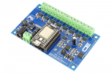 ADS7828 ACS712 8-Channel 5-Amp DC Current Monitoring Controller for Particle Photon
