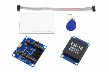 RFID Receiver and I2C Adapter with USB Interface for WiPy