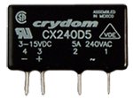 CRYDOM CX240D5R 5A 240VAC RANDOM FOR INDUCTIVE LOADS