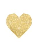 Geometric-gold-foil-heart