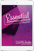 Essential-wordpress-settings-checklist