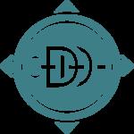 Dd compass main logo teal