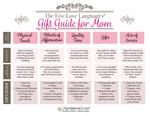5 love languages gift guide mom