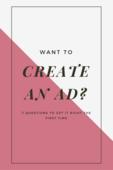 Pinterst   create an ad