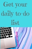Your daily to do list (2)